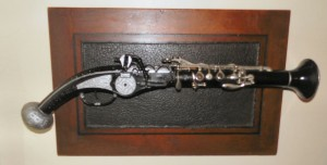 wheel lock clarinet
